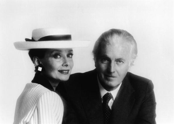 Portrait Of Audrey Hepburn & Hubert De Givenchy
